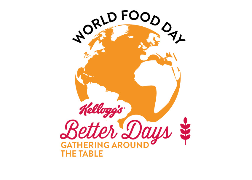 Kellogg Company World Food Day program logo