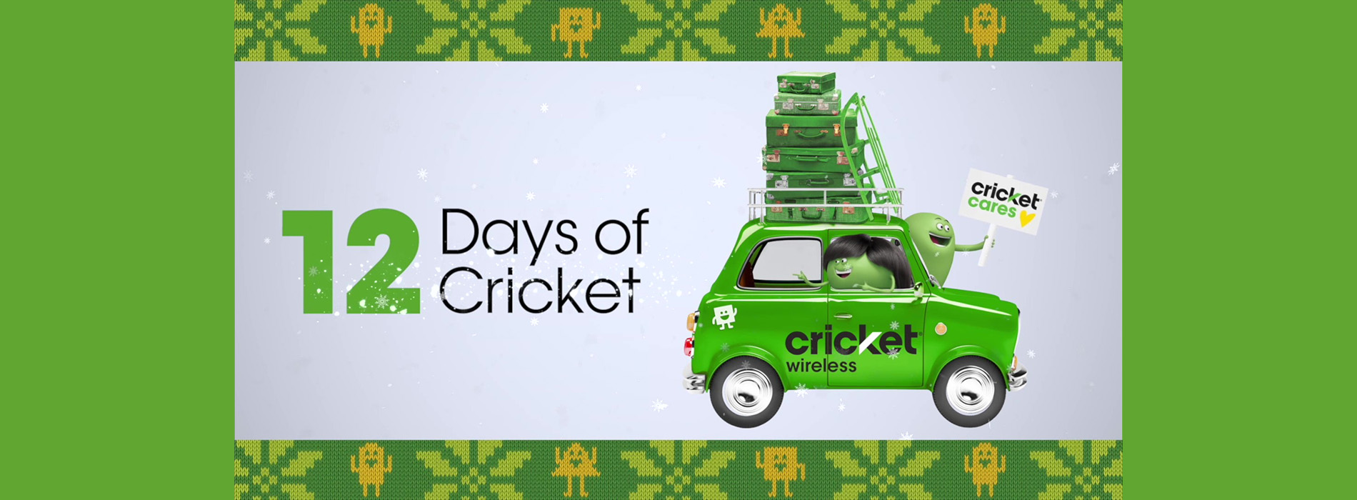 Throughout 12 Days of Cricket, nearly 1,000 people shared stories of perseverance on behalf of friends and family members. After careful review, 12 families in 12 cities were selected to win based on their inspirational stories.