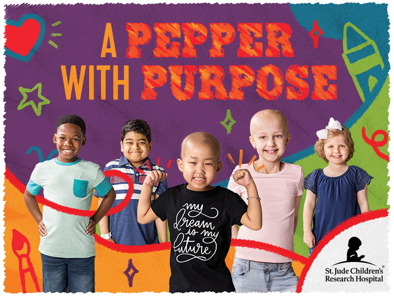 Help take cancer down by participating in Chili's annual Create-A-Pepper campaign and coloring a pepper with purpose