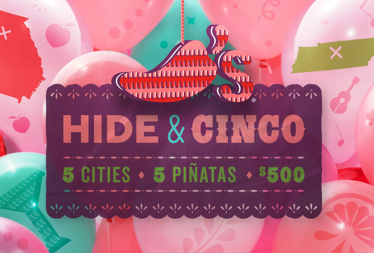 "Chili's Launches ""Hide and Cinco"" Scavenge..."