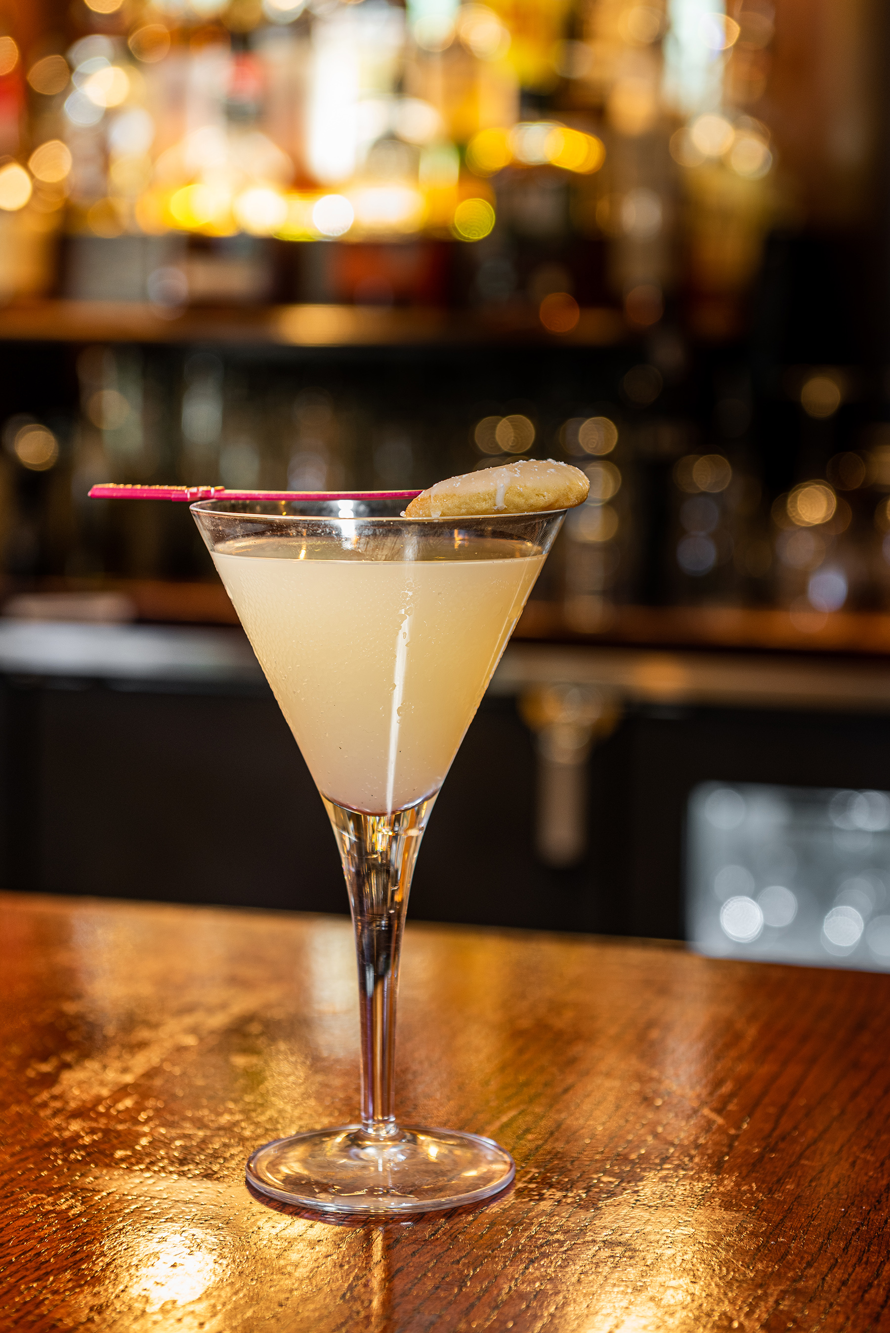 Vera's Lemon Drop Martini