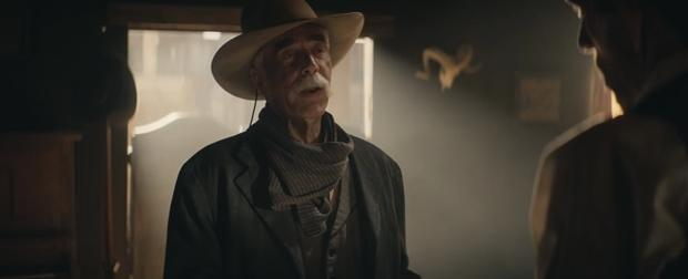 """America's favorite cowboy, Sam Elliott, is starring in Doritos' Super Bowl ad this year. In the teaser titled """"The Monologue,"""" fans are brought straight to the scene of a country Western town where he recites a few lines you might recognize."""