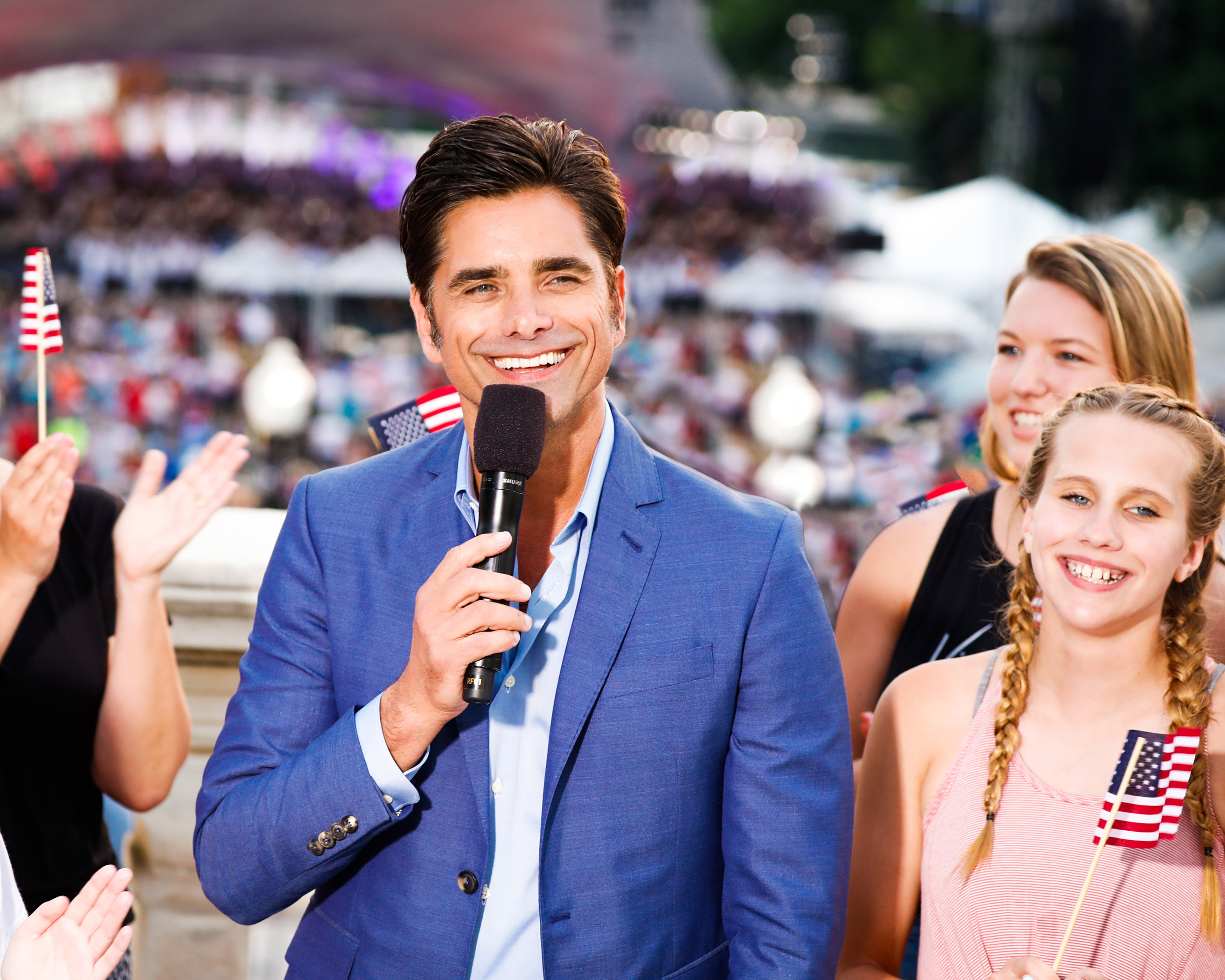 Two-time Emmy Award-nominated actor and producer John Stamos co-hosts the national July 4 TV tradition on PBS, A CAPITOL FOURTH, with Vanessa Williams on Saturday, July 4, 2020. Photo Credit: Paul Morigi/Getty Images for Capital Concerts