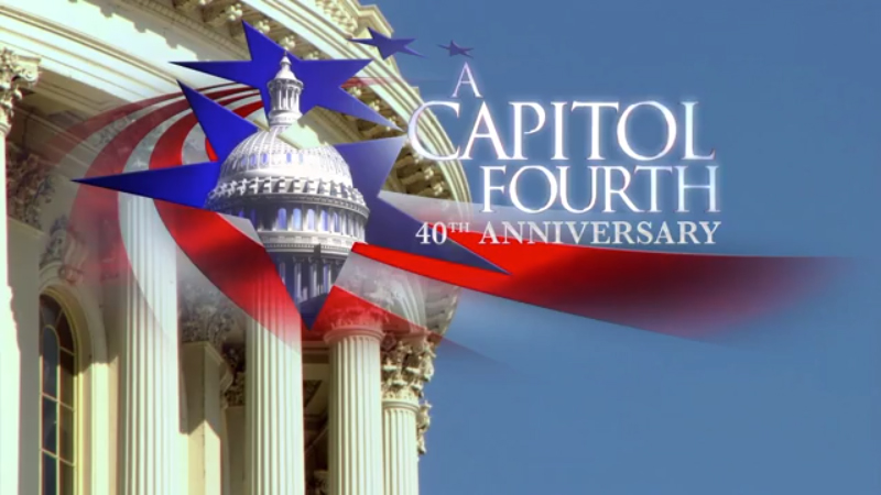 PBS' A Capitol Fourth - July 4, 2020 at 8 pm ET