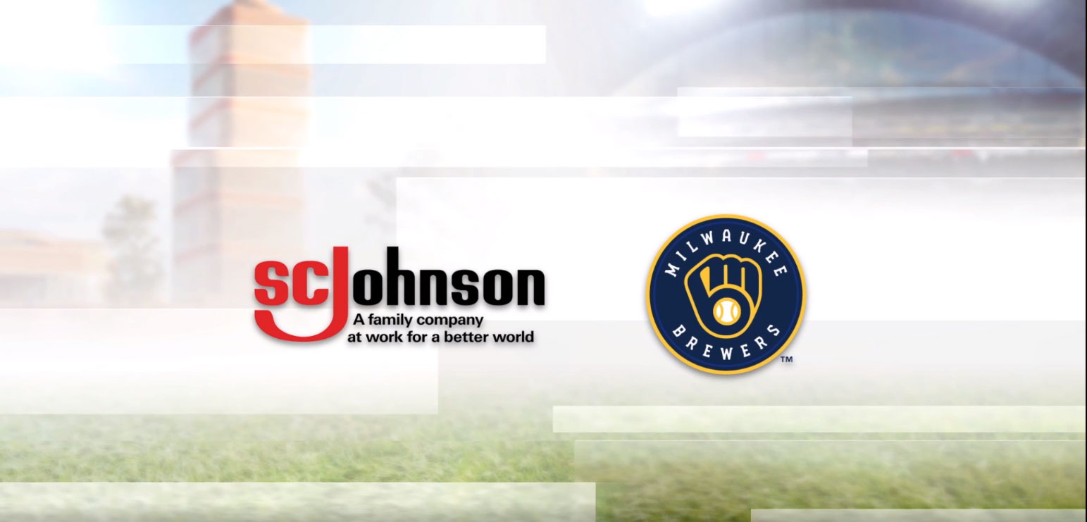 SC Johnson and the Milwaukee Brewers announce a new recycling partnership.