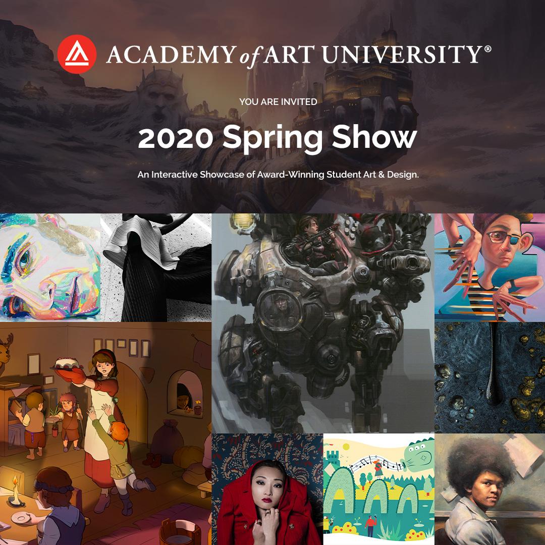 Academy of Art University 2020 Spring Show