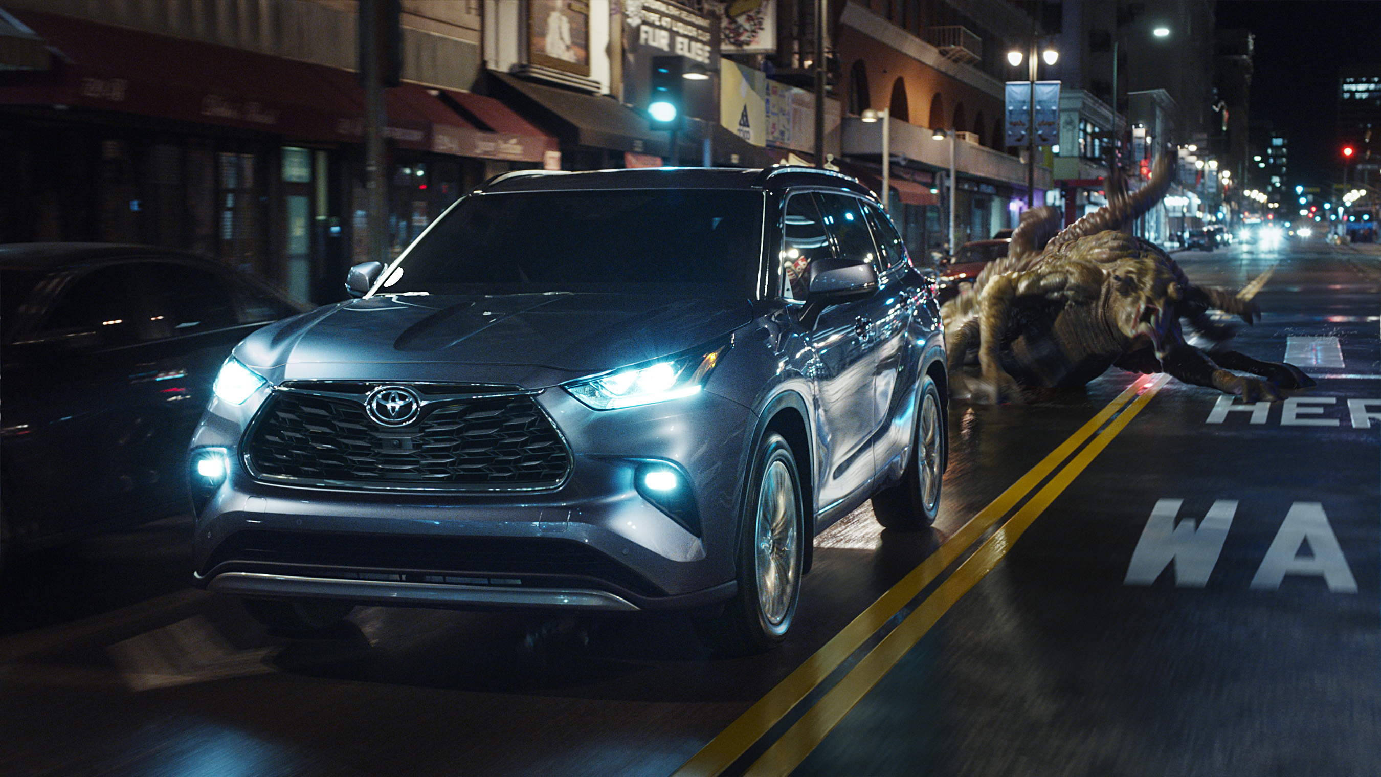 "From aliens and adventure to wild west outlaws, Toyota brings the action to this year's Big Game with the spot ""Heroes."""