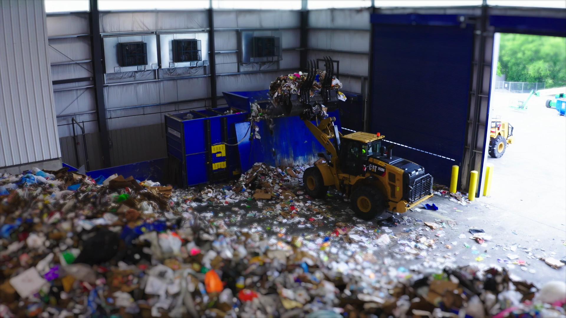 Plano Recycling Center Broll
