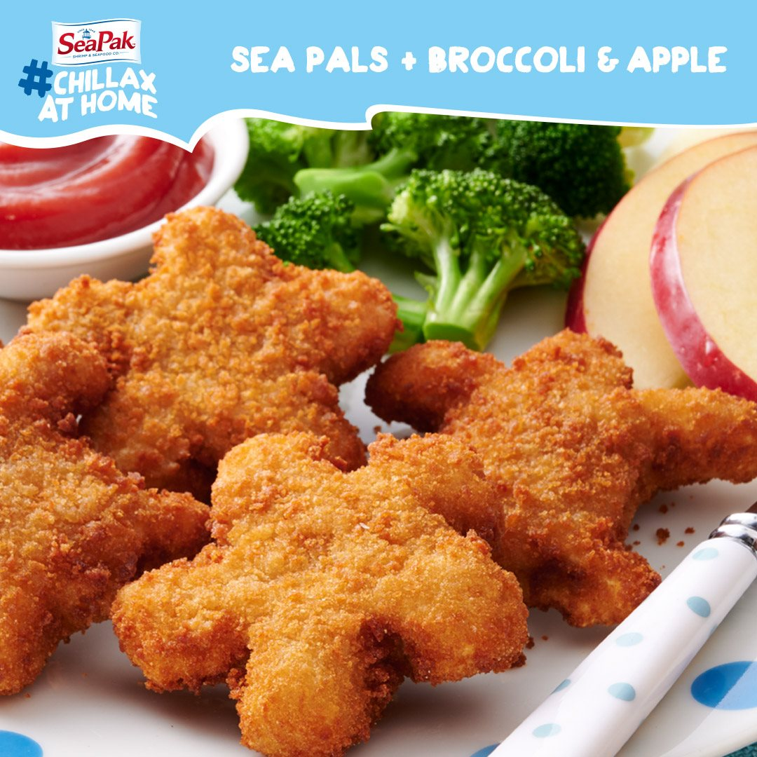 Snack time has never been easier or healthier thanks to SeaPak's Shrimp Sea Pals.