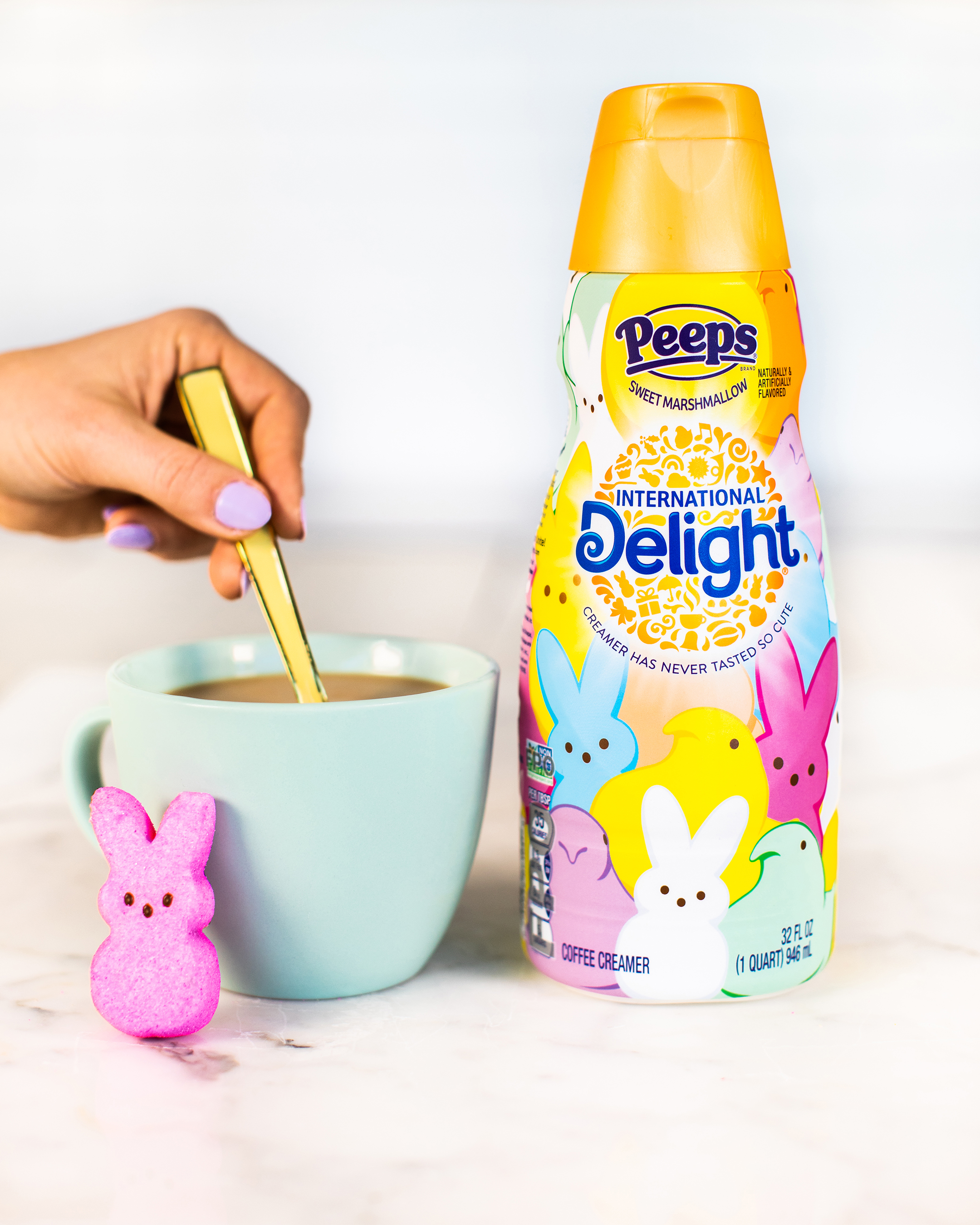 International Delight is hatching PEEPS® Flavored Creamer for the second year in a row
