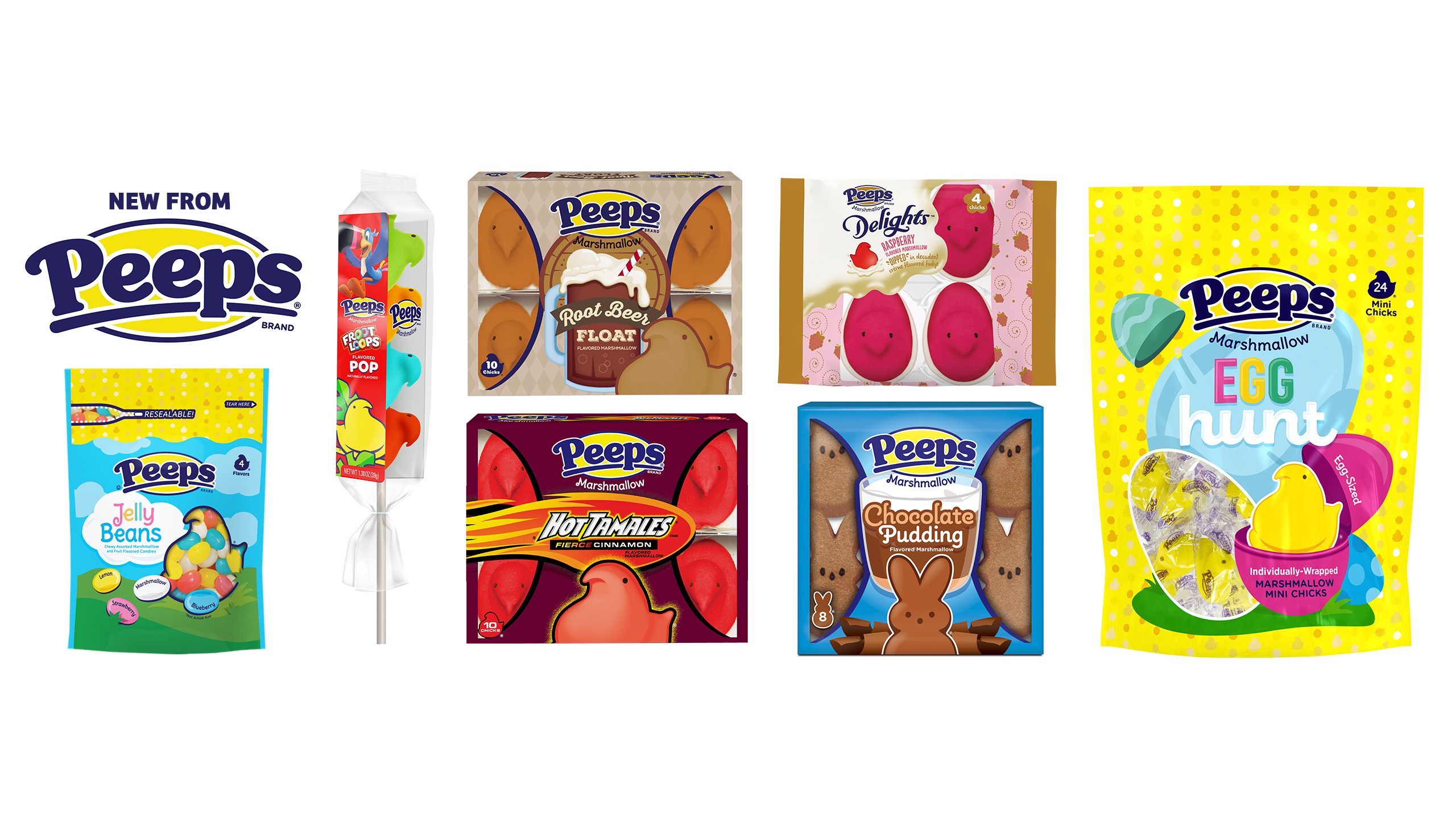 Seven new PEEPS® products for Easter 2020