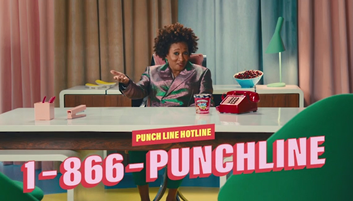 "Ben & Jerry's Raises the Curtain on ""PUNCH LINE"" with Netflix Is A Joke"