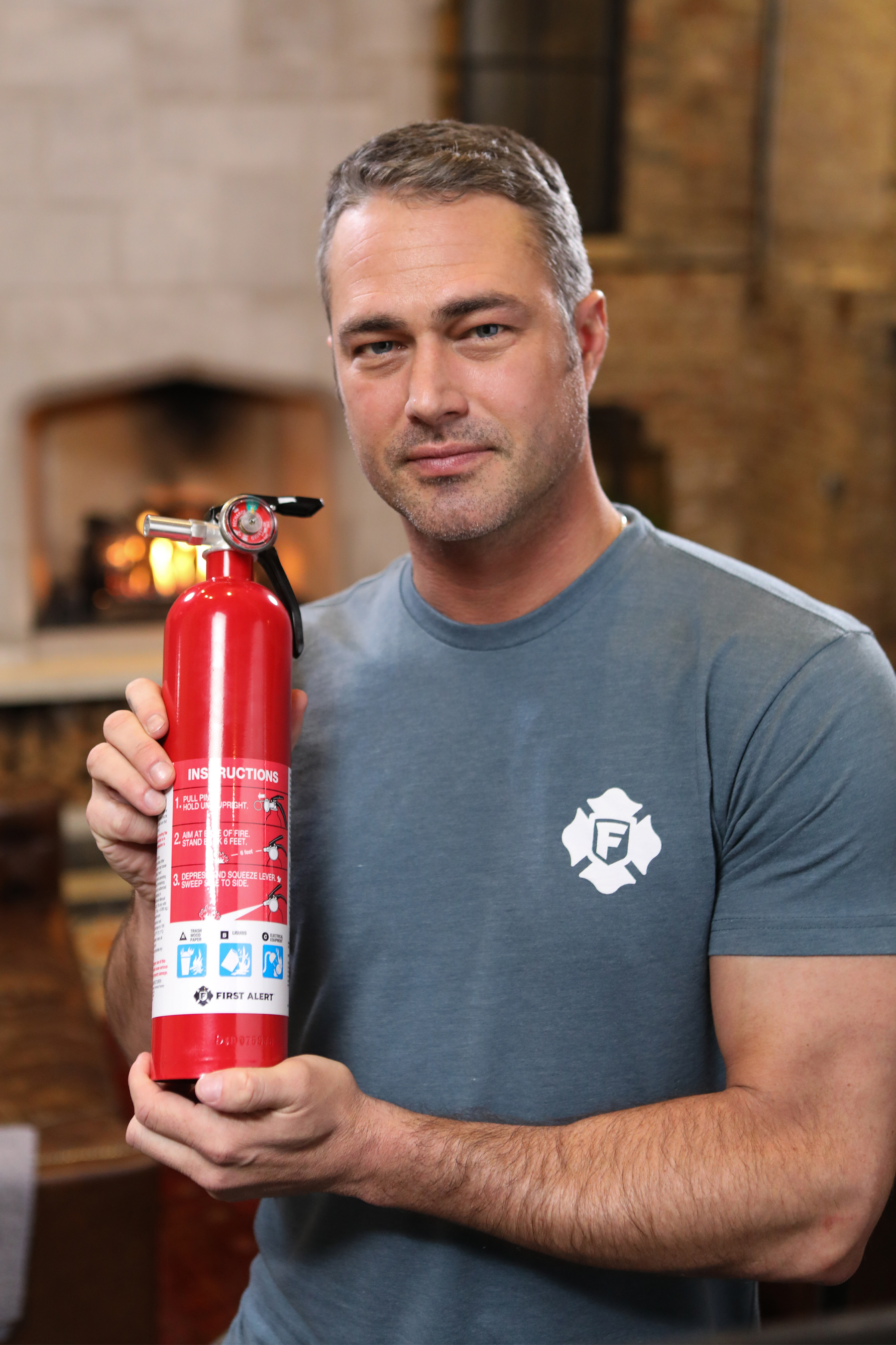Have fire extinguishers - and know how to use them