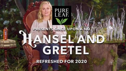 "In reimagined Hansel & Gretel, inspired by new Pure Leaf Cold Brew Iced Tea, Amy Poehler reminds viewers to say ""no"" to rushing through life, and ""yes"" to enjoying the moment."