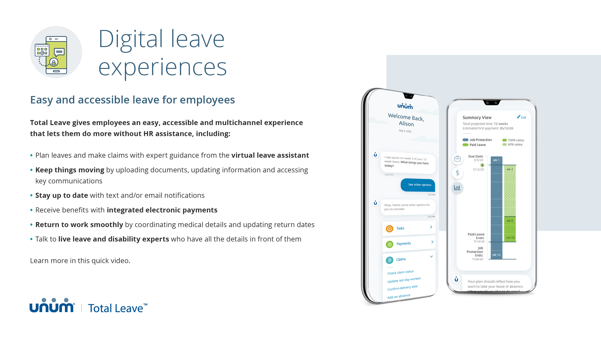 Digital Leave Experiences