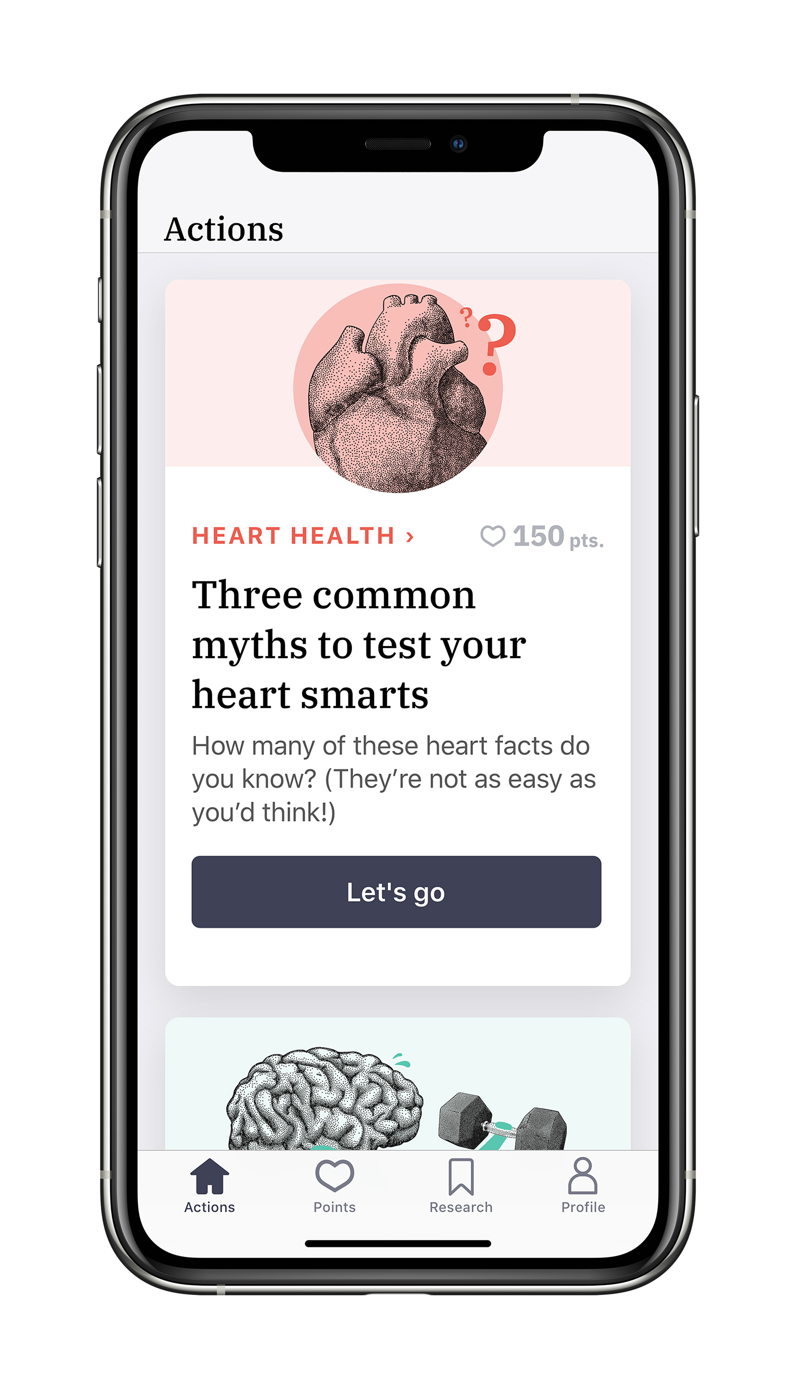 Heart health education will be provided to all study participants through the Heartline™ Study app each week.