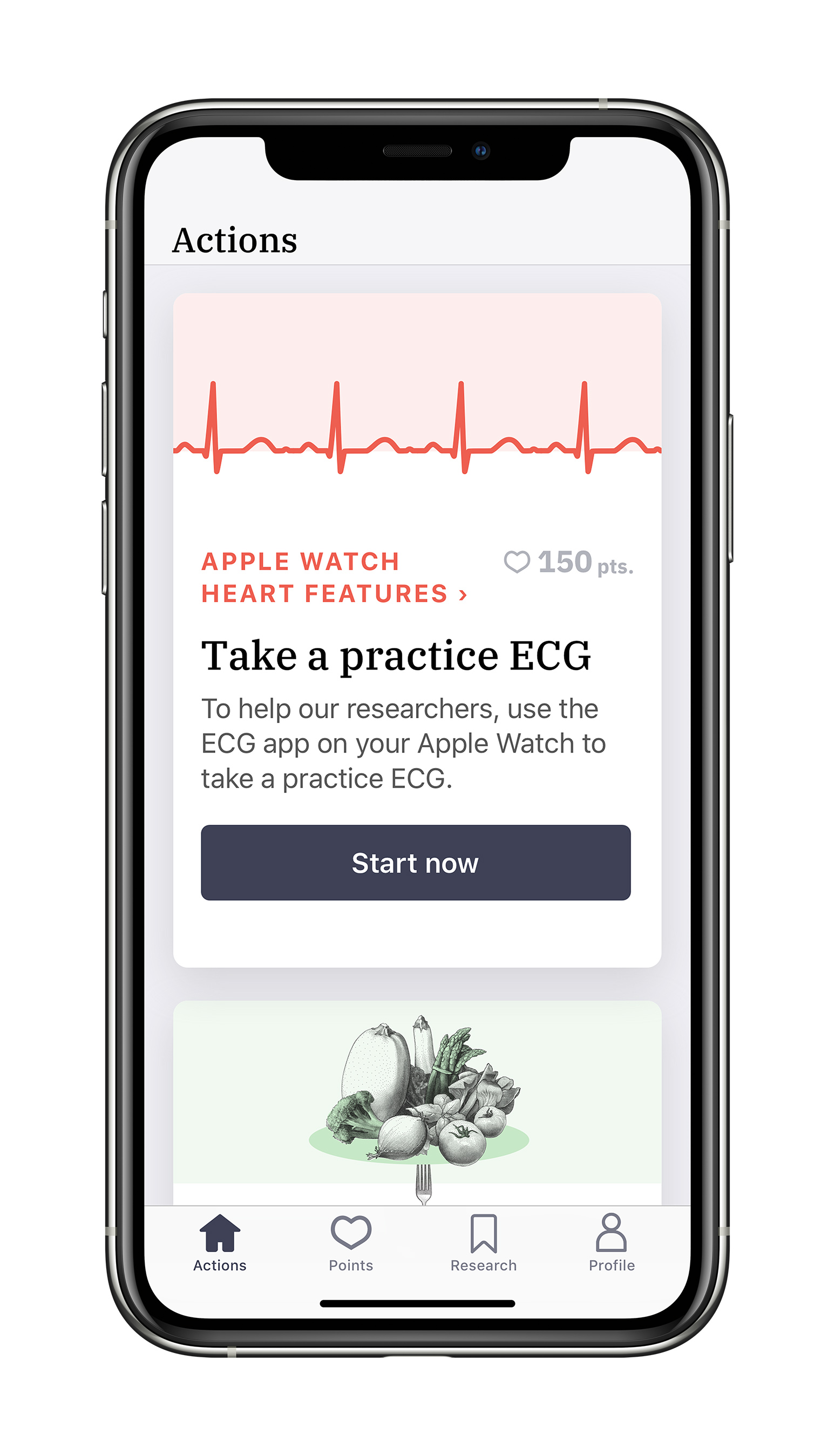 Study participation will help researchers understand whether the Heartline™ Study app and heart health features on Apple Watch can help with earlier detection of AFib and improve overall health outcomes.