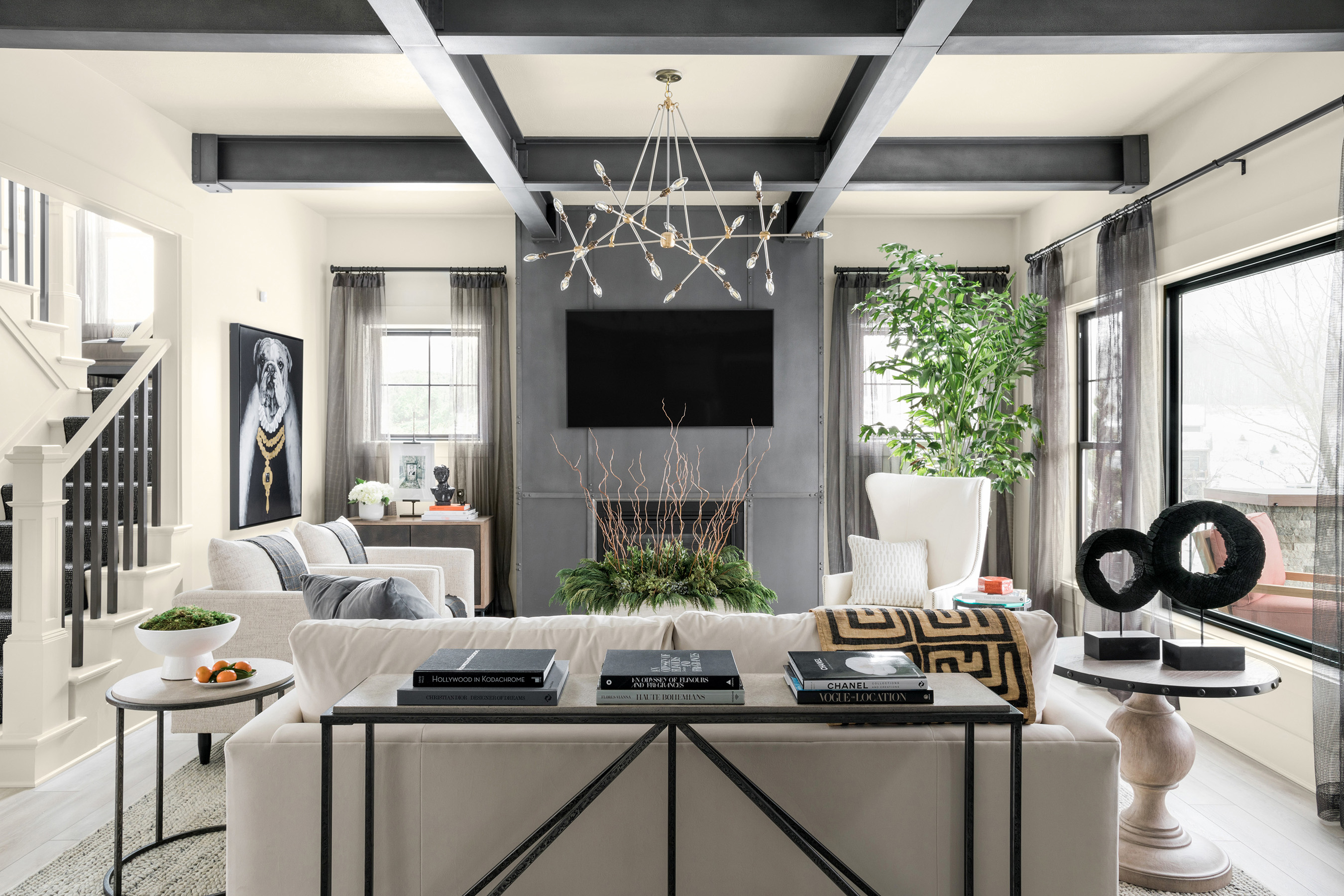 The HGTV Dream Home 2020 Great Room is a chic, comforting space, perfect for entertaining.