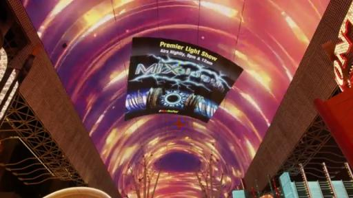 Play Video: Viva Vision Canopy MIXology Light Show Full Video