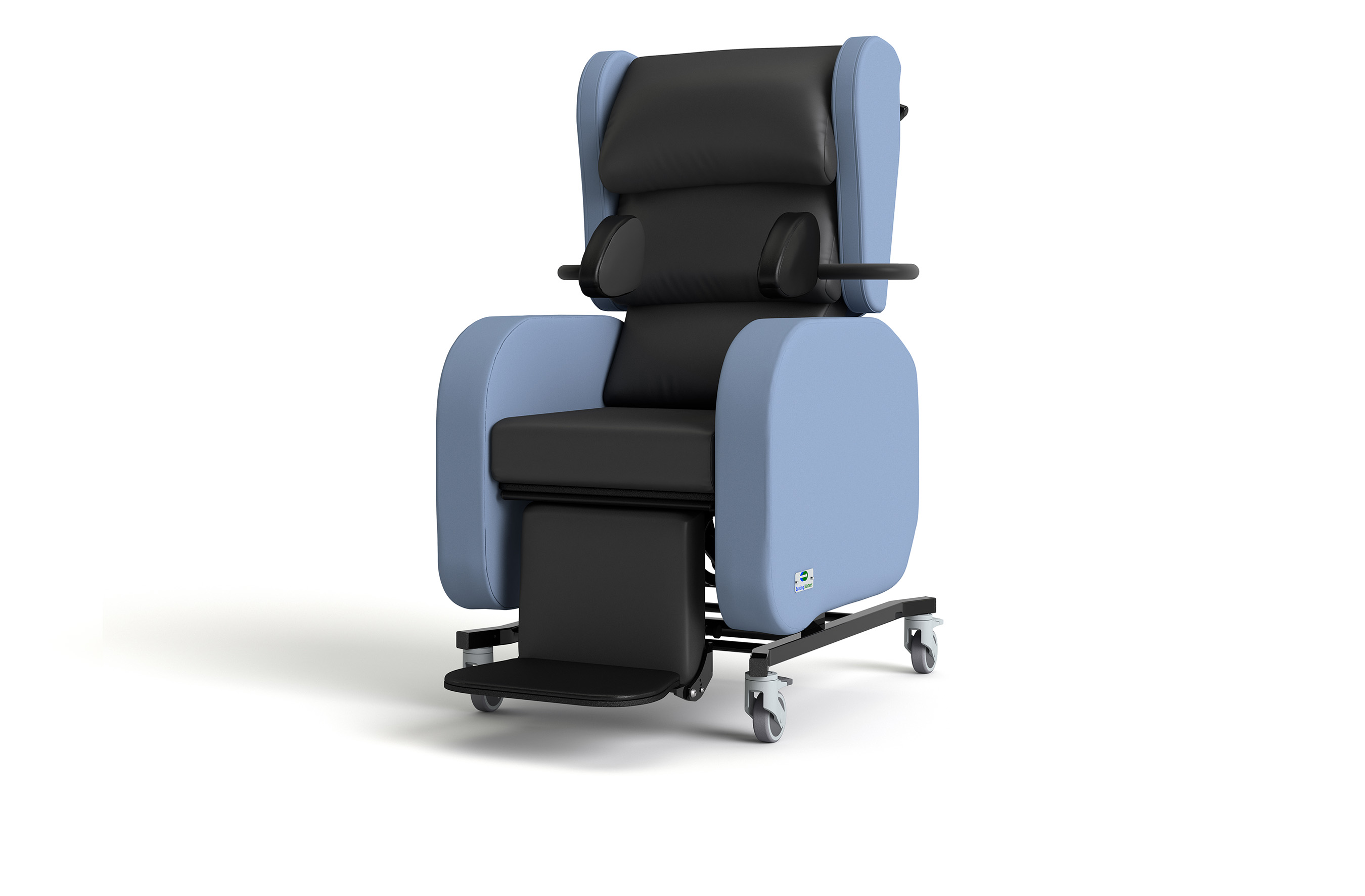Designed to maximize comfort, adapt, and effortlessly adjust, the Sorrento™ is highly functional and easy to operate. The Sorrento designed for the patient, but with the caregiver in mind.