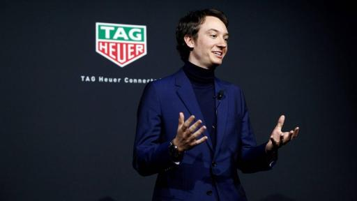 Frédéric Arnault launched TAG Heuer's new Connected at an immersive event in NY