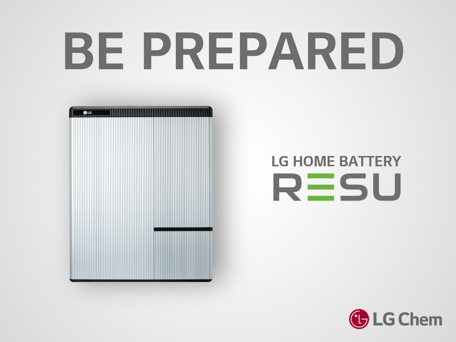 Be Prepared with the LG Home Battery