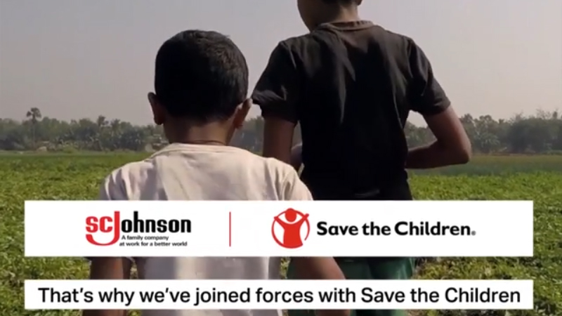 SC Johnson and Save the Children Join Forces to Equip a Generation with the Life Skills to Battle COVID-19 and Future Public Health Threats
