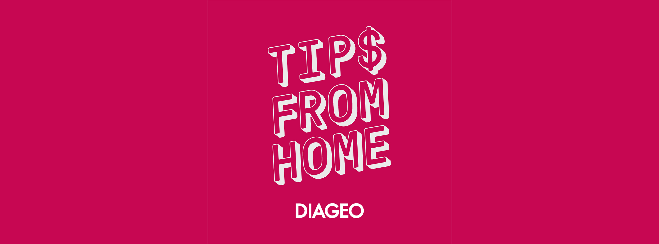 Diageo North America announces #TipsFromHome social pledge movement to rally further support for the bar & restaurant community #DiageoDonation