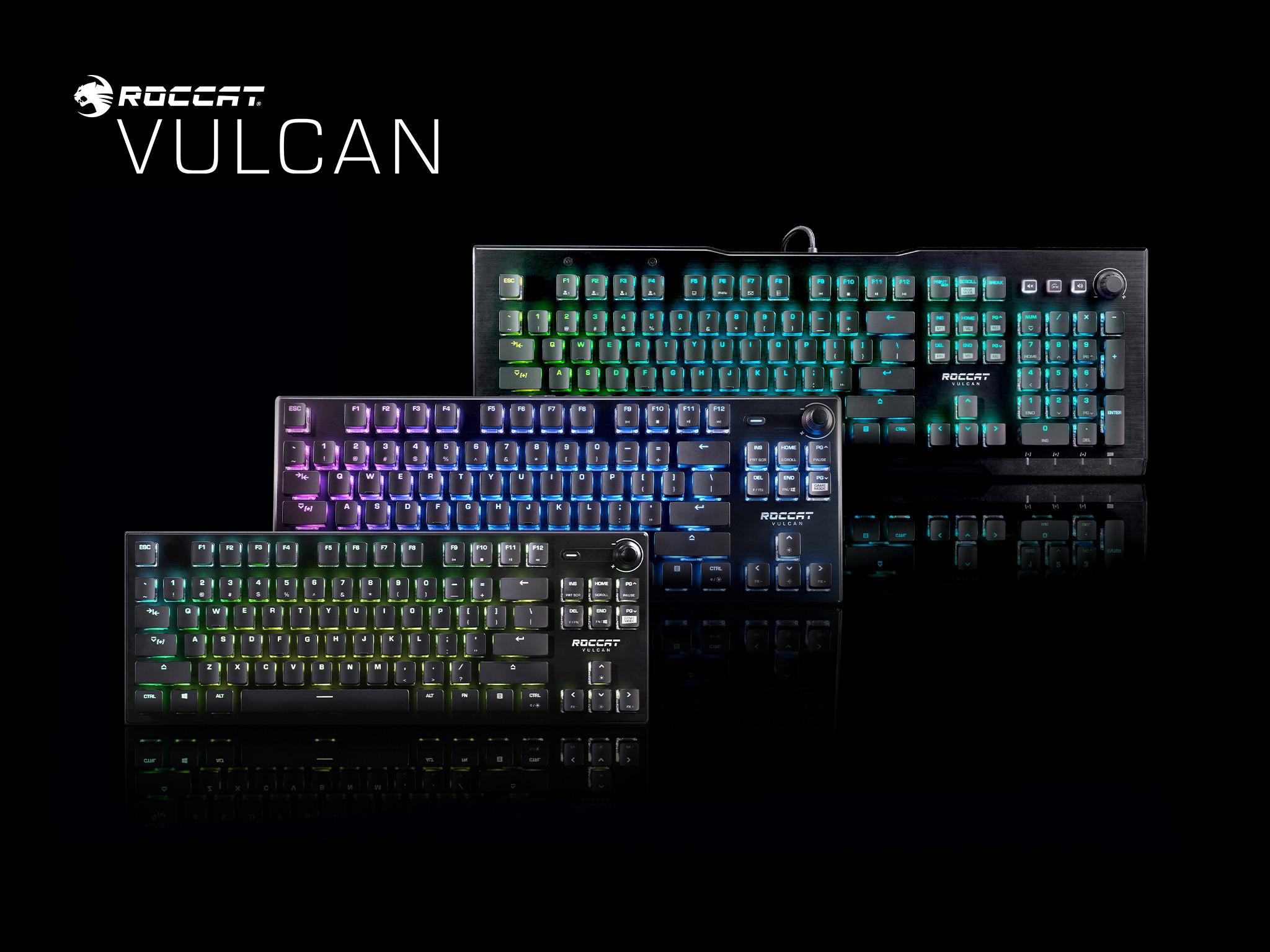 Vulcan keyboards image
