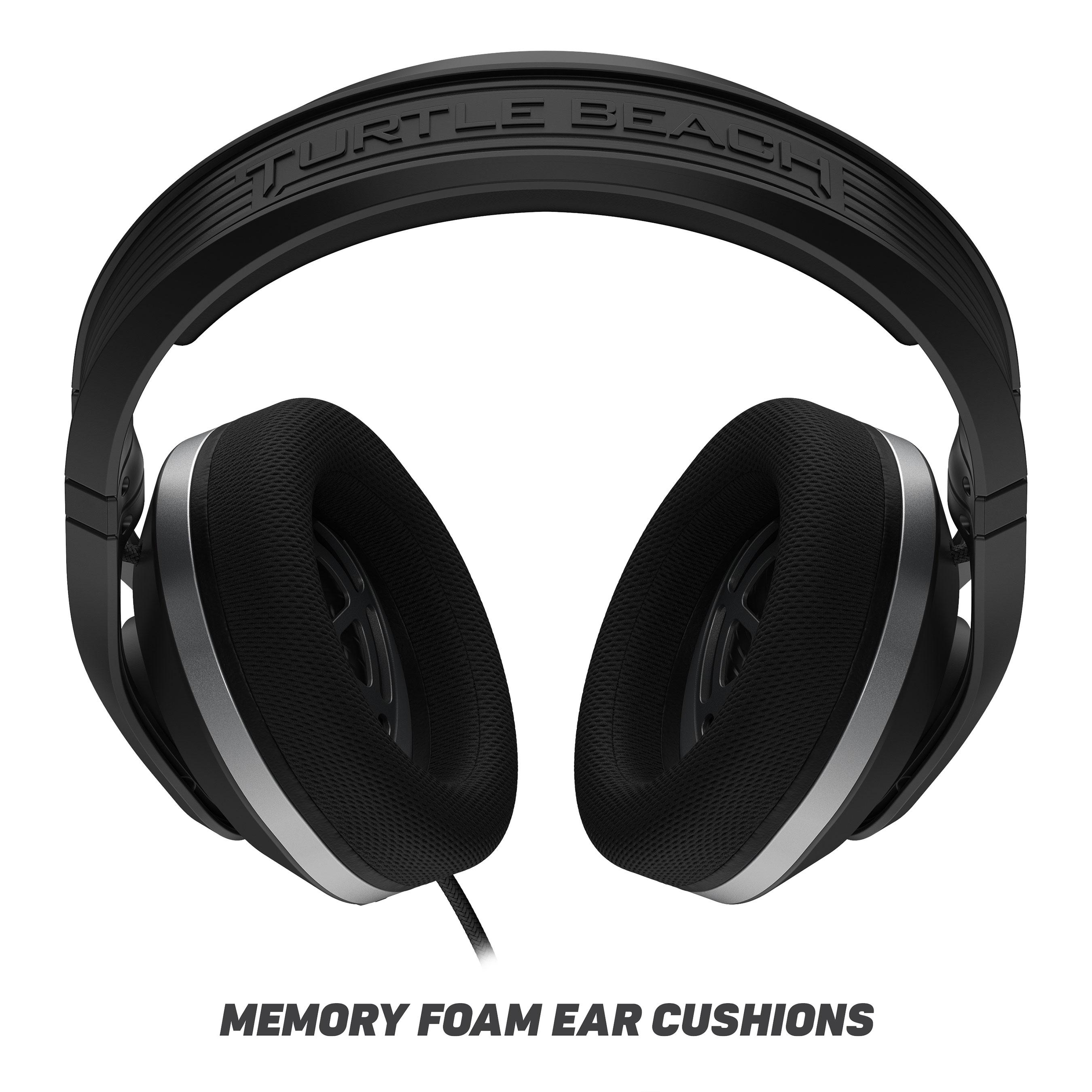 Plush memory foam cushions plus ProSpecs™ glasses-friendly tech provides unmatched comfort.