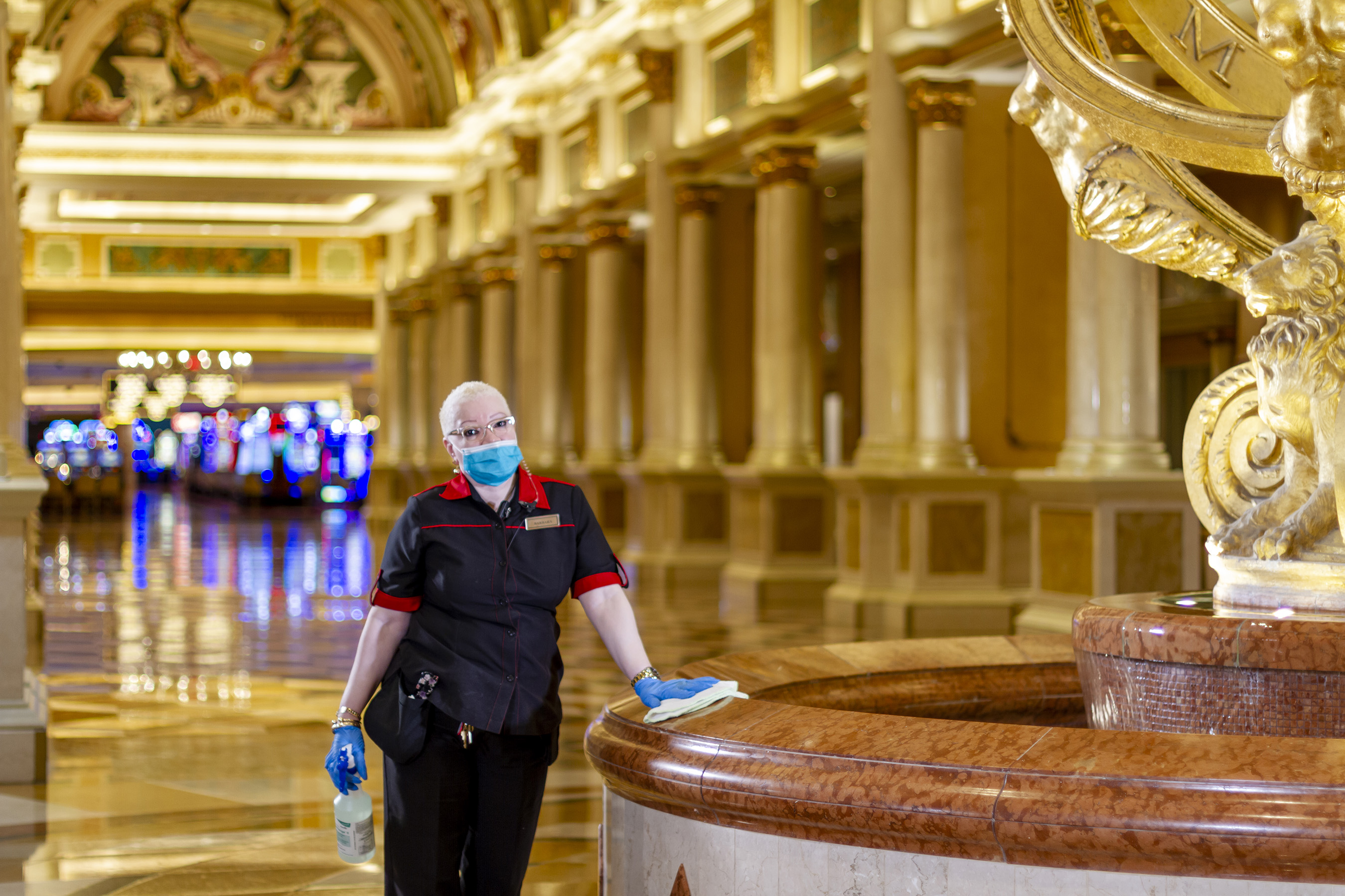 All Team Members received additional training on COVID-19 safety and sanitization protocols, as well as more comprehensive training for our teams with frequent guest contact including housekeeping, food & beverage, public areas, hotel operations and security.