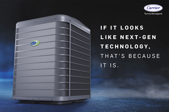 All Infinity series heat pumps include the exclusive Silencer System II™ feature to fine-tune performance as conditions change, resulting in sound levels as low as 51 decibels. That's quieter than a normal conversation.