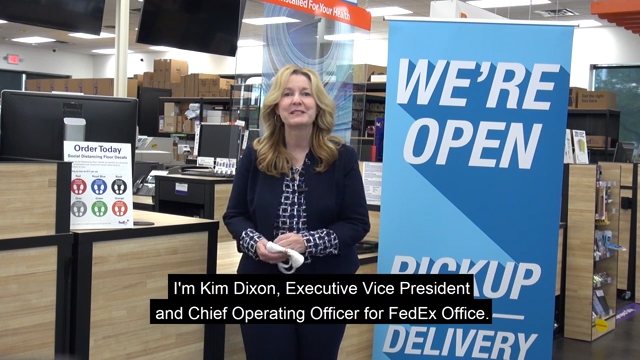 FedEx Office Helps America Get 'Back to Business'