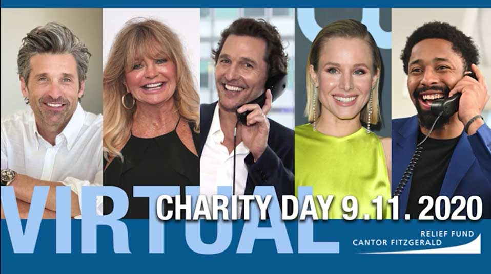 Charity Day Virtual & Unstoppable For BGC Partners & Cantor Fitzgerald