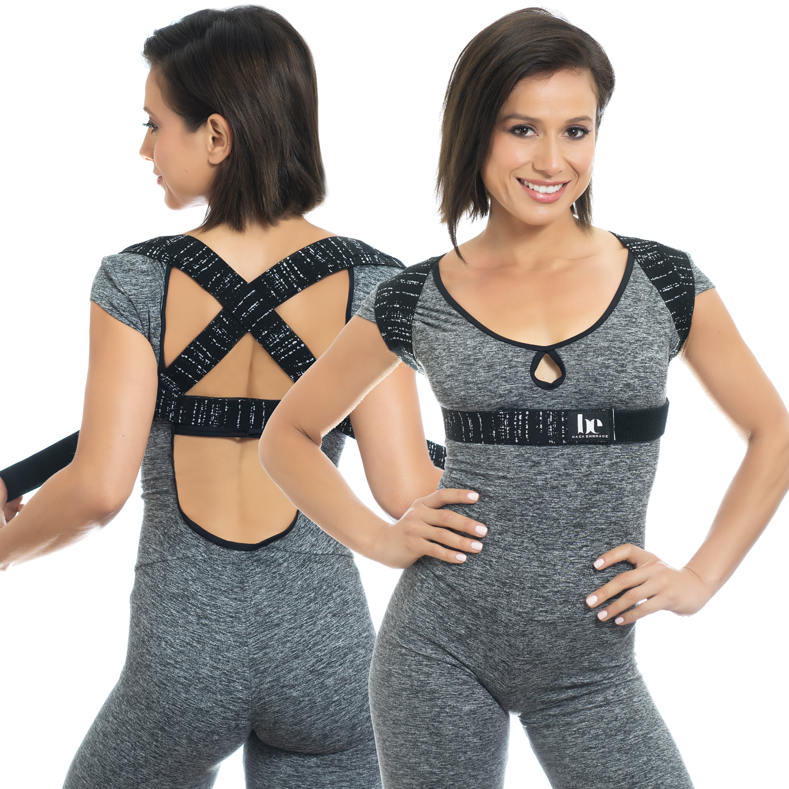 BackEmbrace is an effective orthopedic posture support that helps prevent hunching and slouching. Recommended by doctors, BackEmbrace helps relieve tension and strain in the upper back, neck and shoulders.