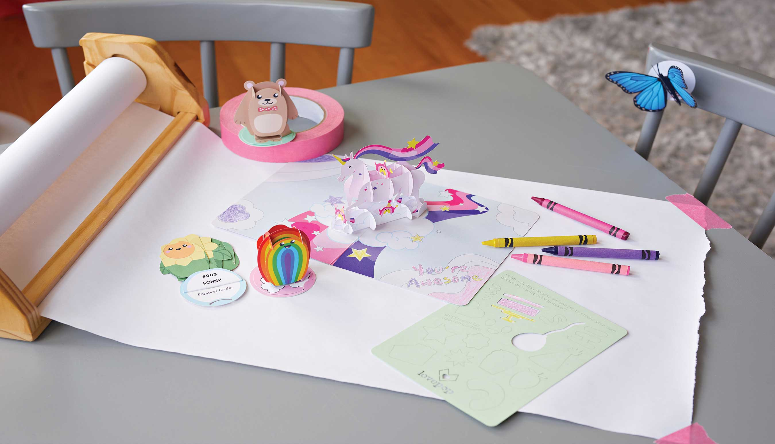 Open up a whole new world of fun with Lovepop Play - a brand new line of paper pop-up toys and cards for kids.