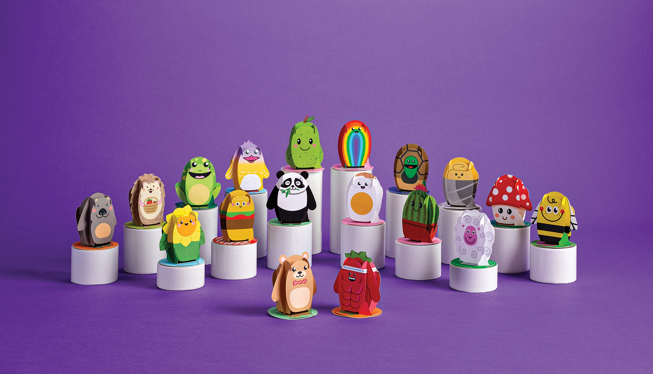 Meet the Playpop Explorers - 3D pop-up paper pals on a mission to create magical moments.