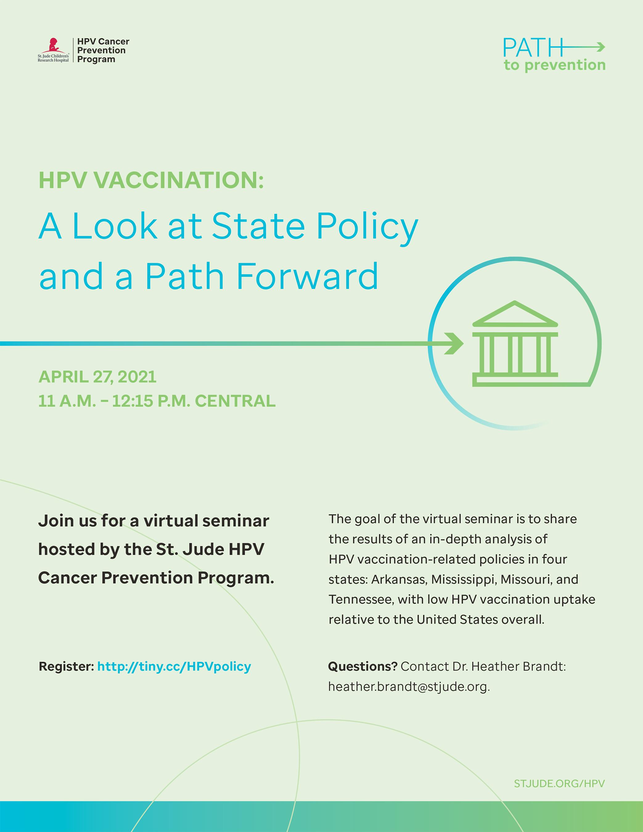 HPV Prevention Flyer