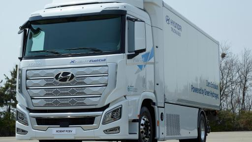World's First Fuel Cell Heavy-Duty Truck, Hyundai XCIENT Fuel Cell, Heads to Europe for Commercial Use
