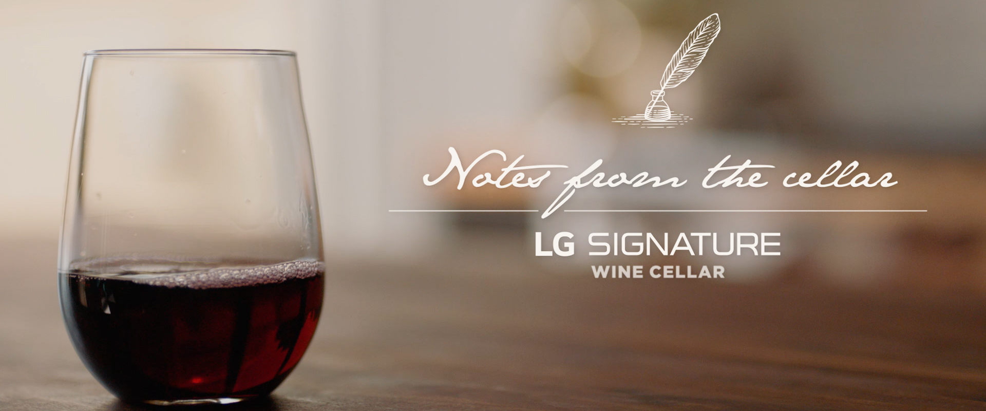 LG SIGNATURE Premieres 'Notes From The Cellar' Series With Brand Ambassadors And Acclaimed Chefs