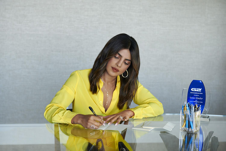 Priyanka Chopra Jonas, G2 Overachievers spokesperson