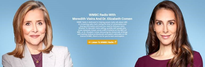 Screengrab of WMBC Radio website page