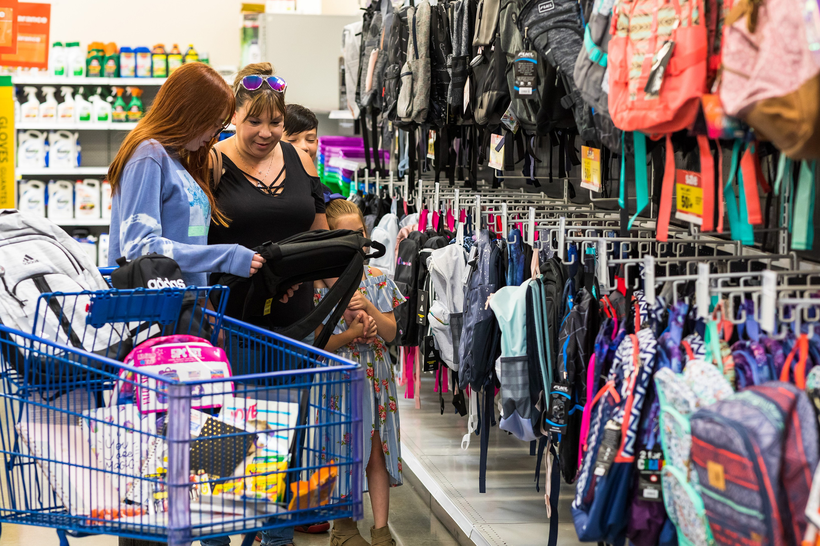 Meijer reveals top trends for back to school shopping put upgrading backpacks and returning in style at the top of families' supply lists.