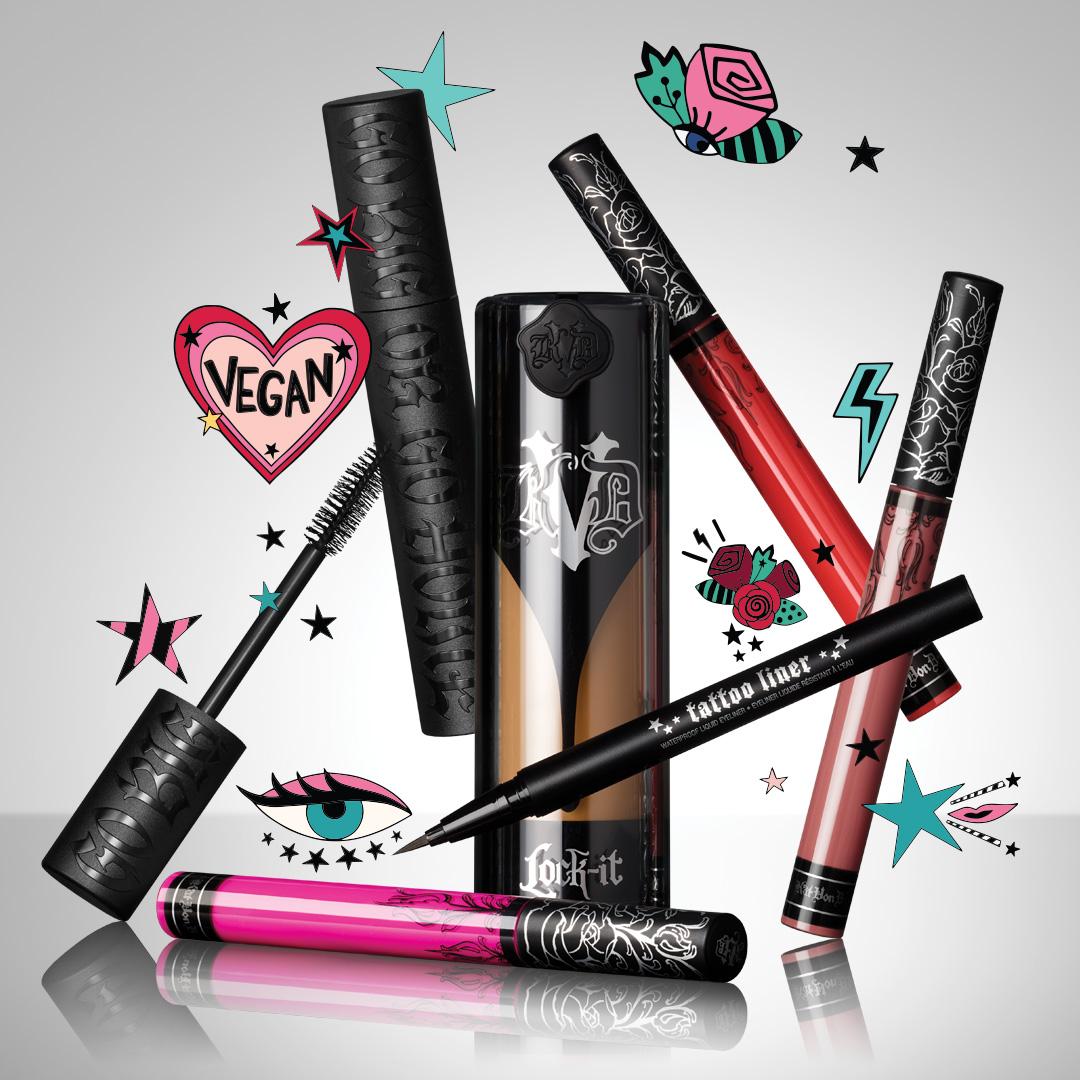 Assortment of KVD Vegan Beauty Products Available at Ulta Beauty