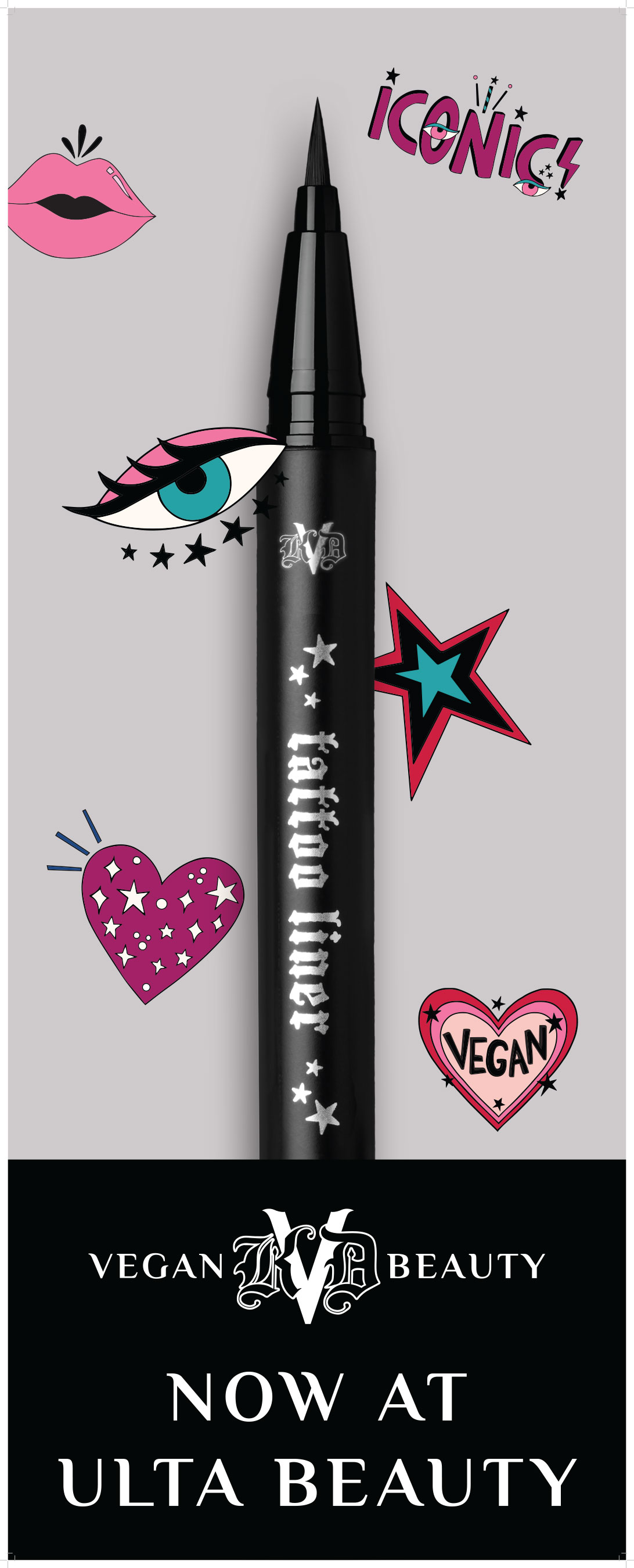 KVD Vegan Beauty's #1 product, Globally Award-Winning Liquid Eyeliner, Tattoo Liner - and First Vegan Product