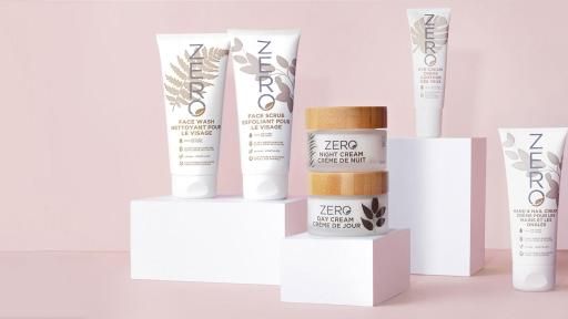 New 100% natural, vegan beauty brand arrives at Shoppers Drug Mart – ZERO by Skin Academy offers nourishing, plant-based formulas for all skin types and sustainable packaging.