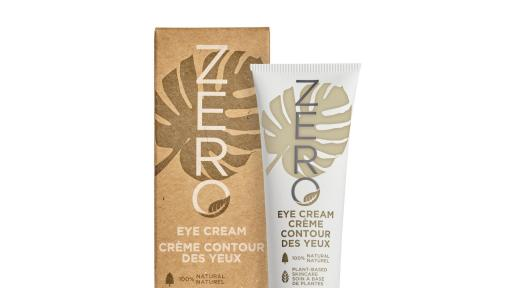 The ZERO Eye Cream is a rich, 100% natural, vegan formula enriched with Shea Butter, known for its healing properties, and deeply moisturizing Coconut Oil to hydrate and nourish the delicate eye area.