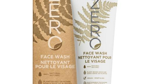 The ZERO Face Wash is a 100% natural, vegan gel cleanser formulated with Coconut Oil, Sweet Almond Oil and Sacha Inchi Seed Oil to leave skin feeling refreshed, soothed and hydrated after cleansing.
