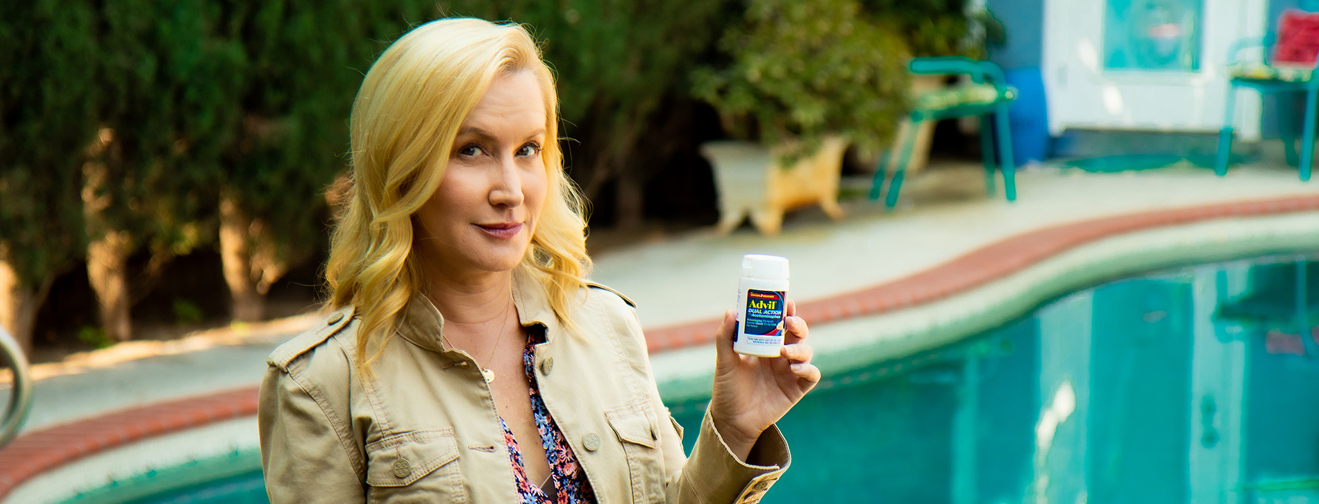 Advil Taps Leading Lady and Super Mom Angela Kinsey for the Launch of Major Pain Innovation, Advil Dual Action