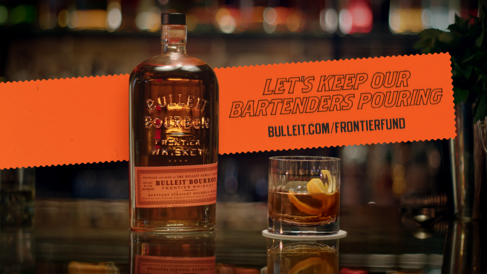 Bulleit Frontier Whiskey Is Helping Bartenders Keep Doing What They Do Best With Launch Of Bulleit Frontier Fund